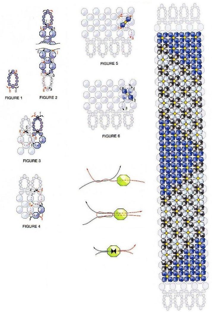Бисер браслетики схемы