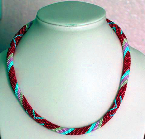 Bead Crochet Rope on Pinterest