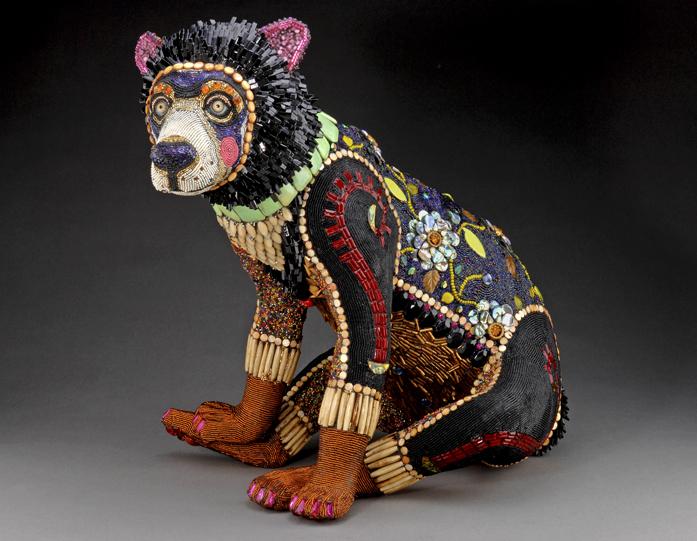Бисерные статуи Betsy Youngquist - Хенд made, своими руками, мастер классы Хенд мейд, мастер классы, своими руками.