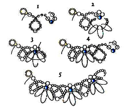 free bead crochet tutorials, bracelet, beaded headband, wire