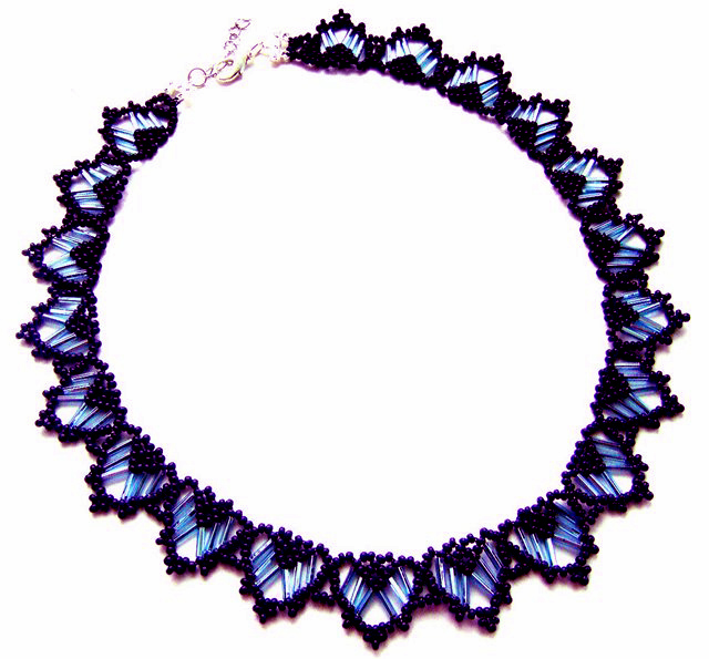 Free pattern for beautiful beaded necklace rani beads magic