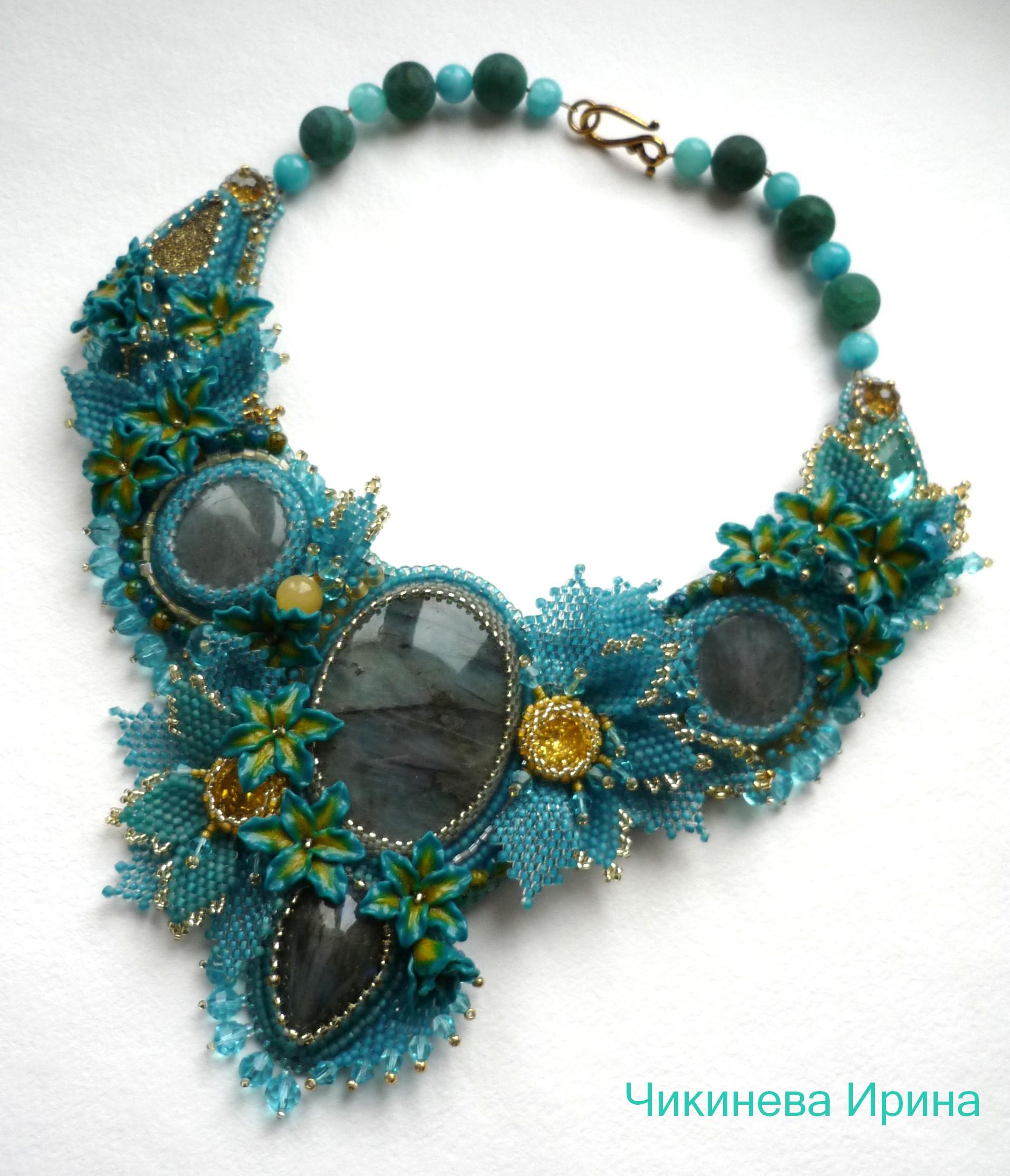 Amazing Embroidered Jewelry By Irina Chikineva  Beads Magic
