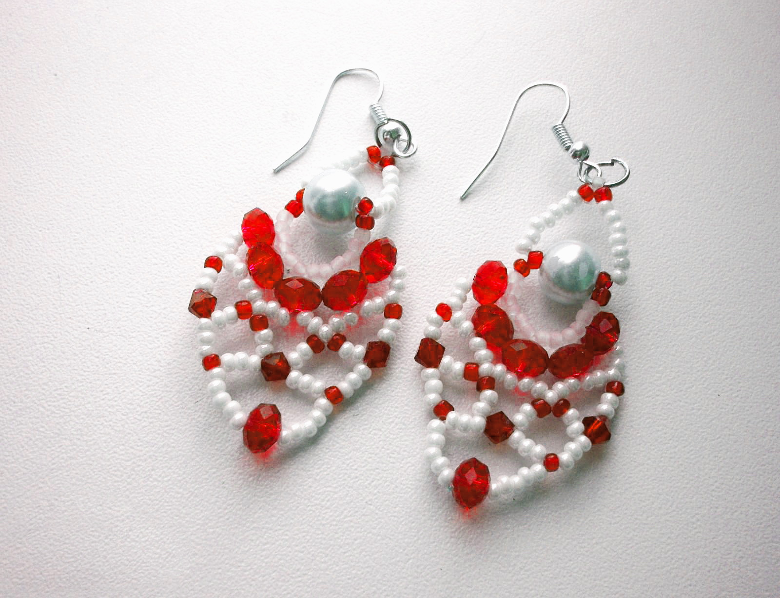 Free Pattern For Earrings Charm