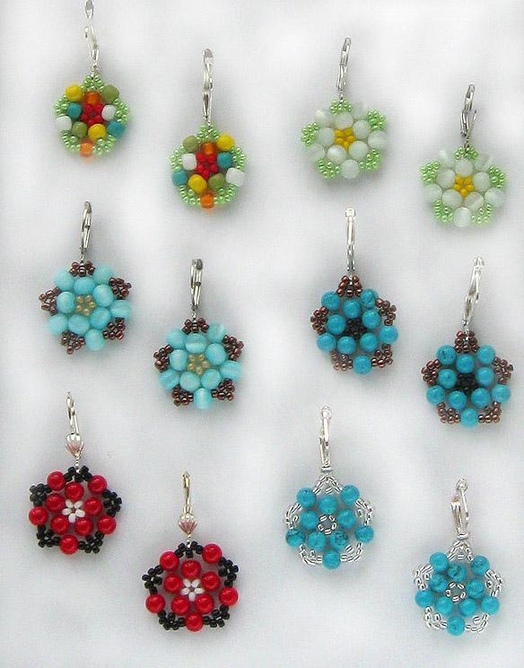 free pattern for earrings floweret magic bloglovin