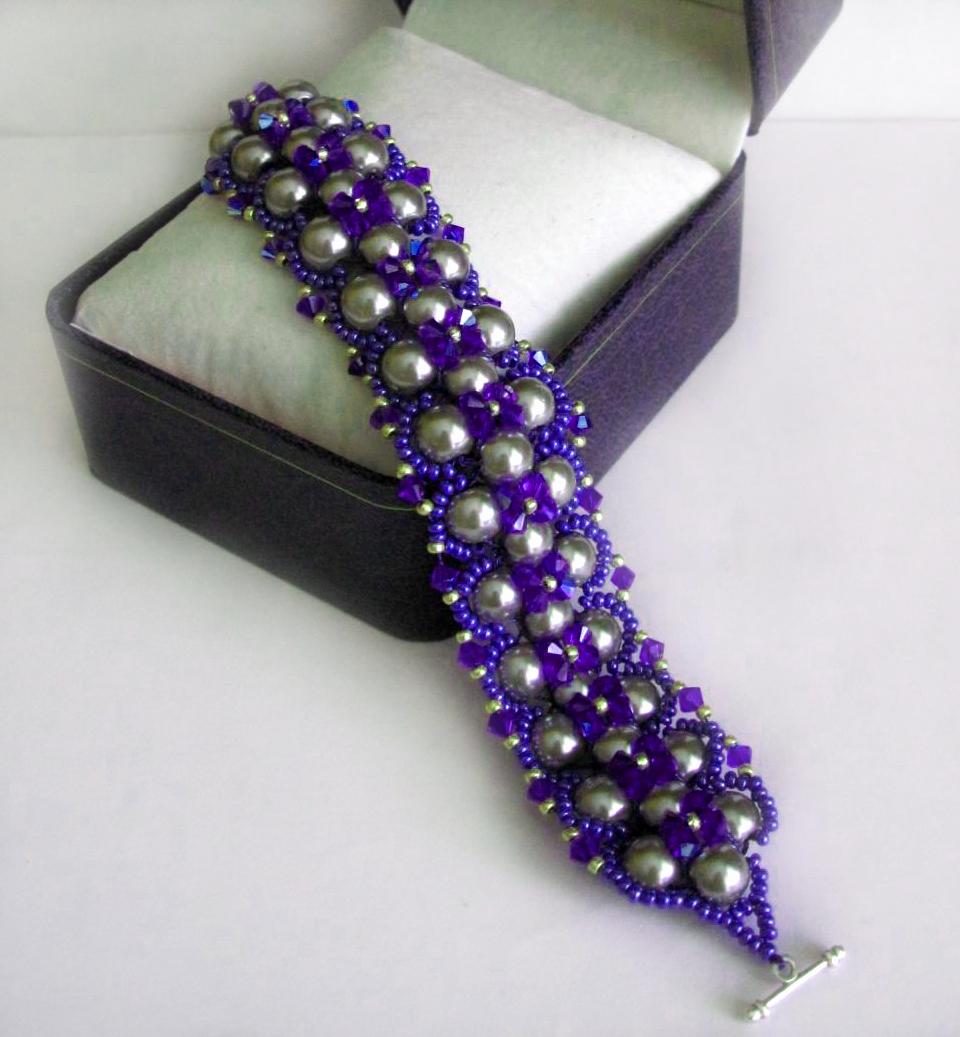 free pattern 17 best ideas about stretch bracelets on pinterest beaded - Beaded Bracelet Design Ideas