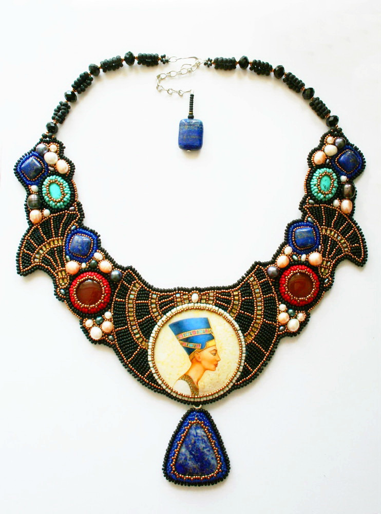 Beautiful jewelry in egyptian style beads magic for Egyptian jewelry