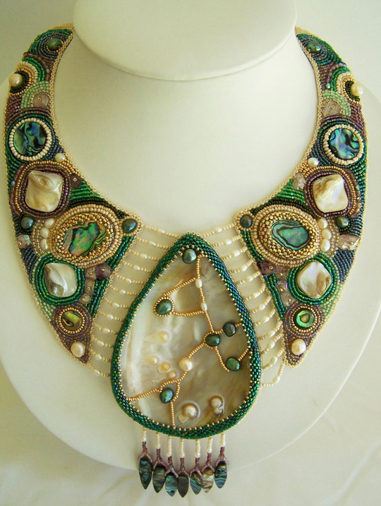 Beaded Necklace Designs Ideas