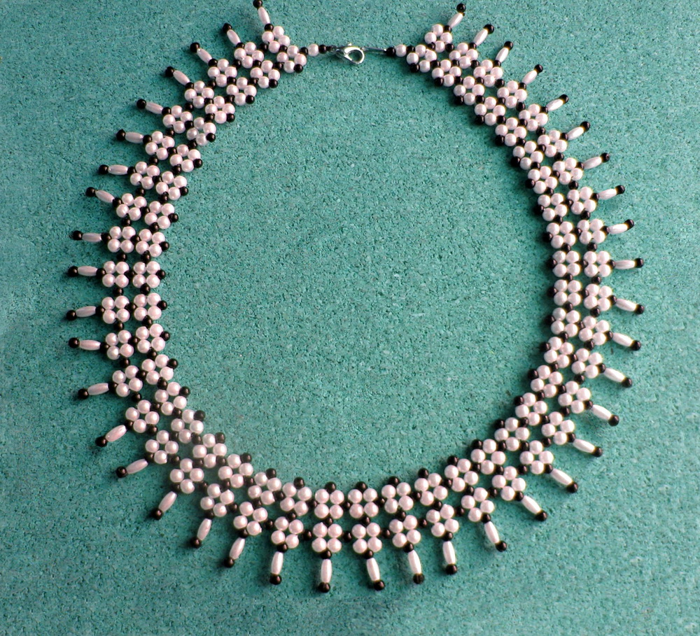 free pattern for beaded necklace greta magic