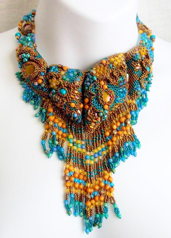 textile jewelry | Beads Magic