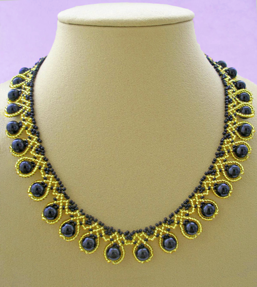 free pattern for beaded necklace ra beads magic