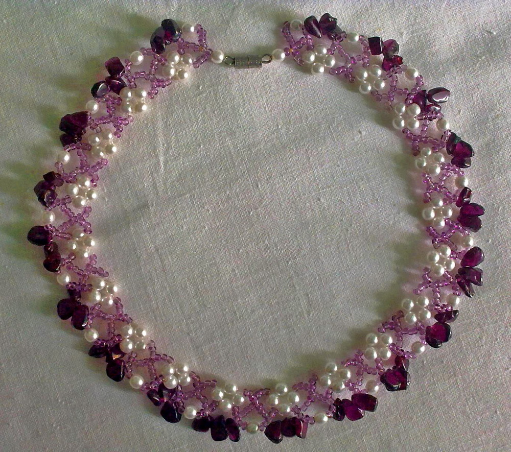 Free Pattern For Beaded Necklace Elbrus