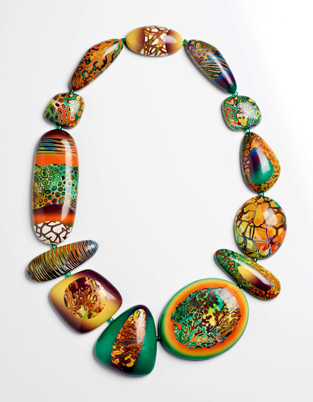 Reggae Necklace by Melanie Muir