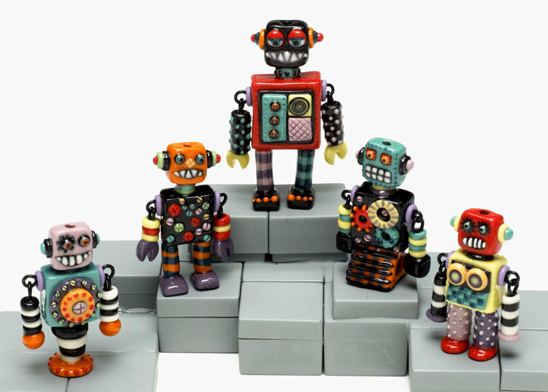 Robot Party by Joan Miller