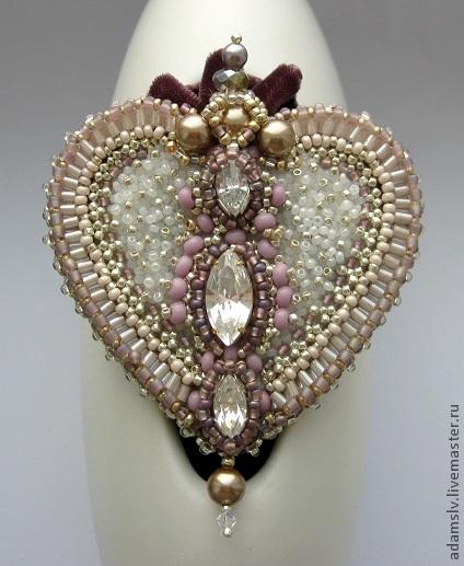 Brooch Beads: Beautiful Brooches By Krisitina Adams