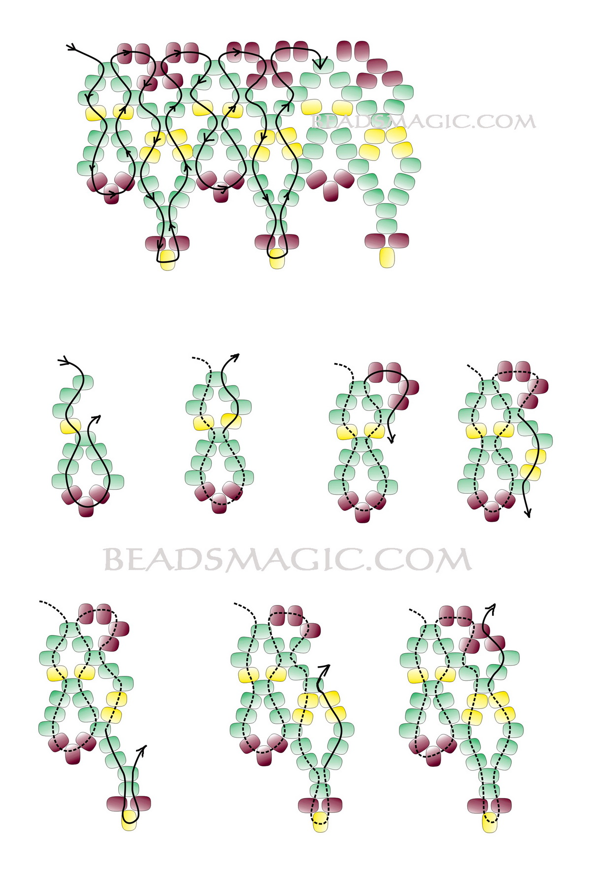 free-bead-necklace-tutorial-2