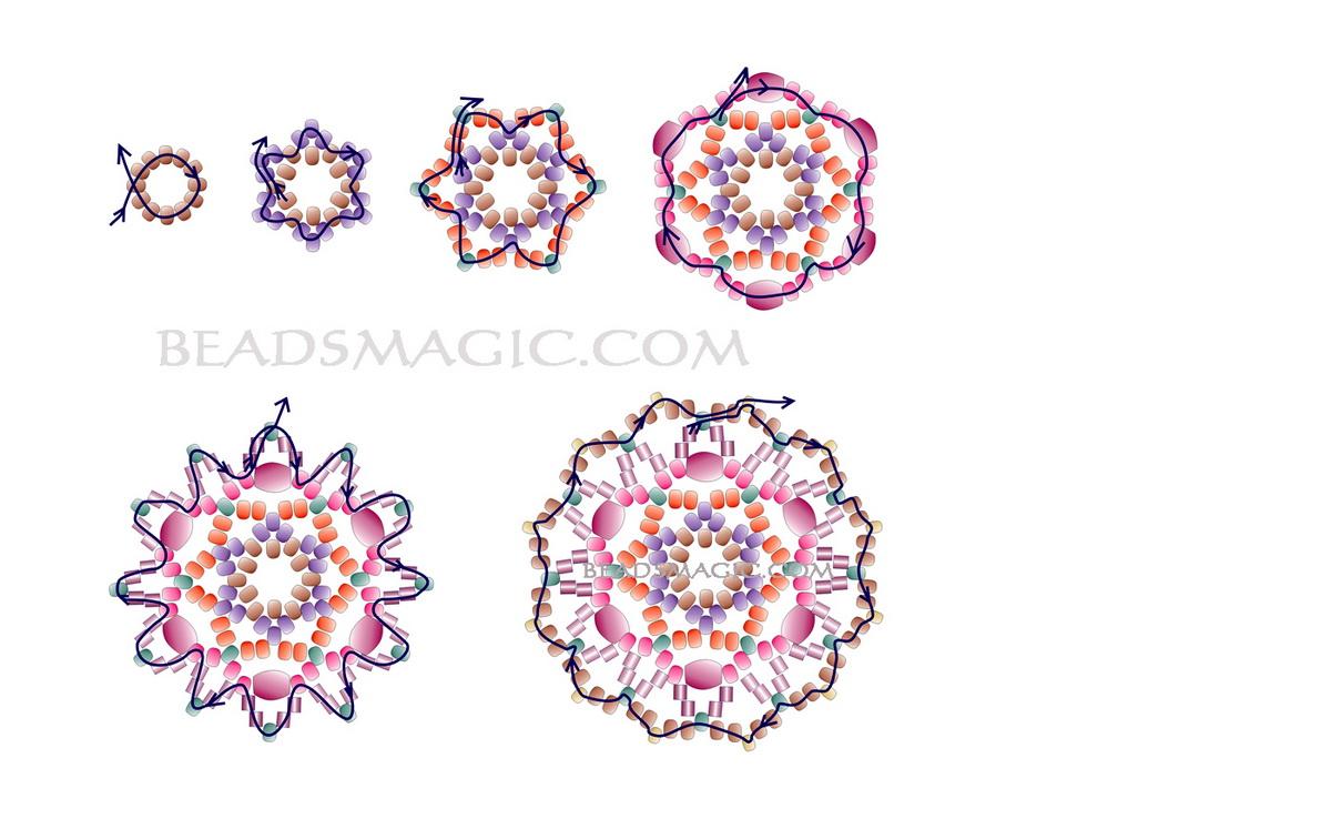 free-beading-pendant-pattern-tutorial-2-1