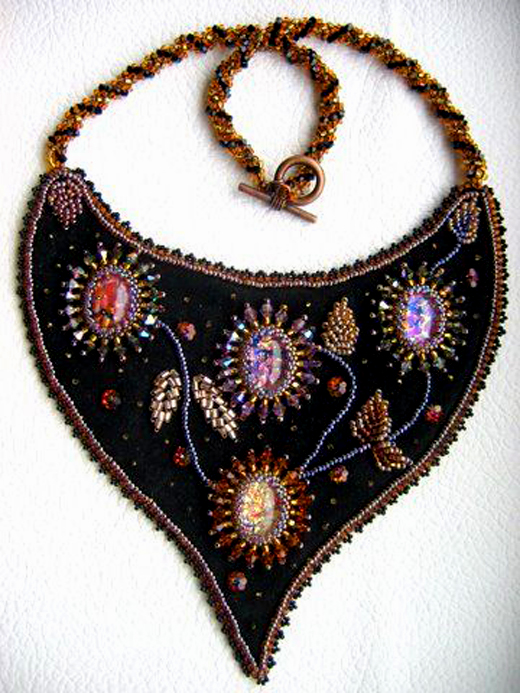 Beautiful Embroidered Jewelry By Theresa Labriet Beads Magic