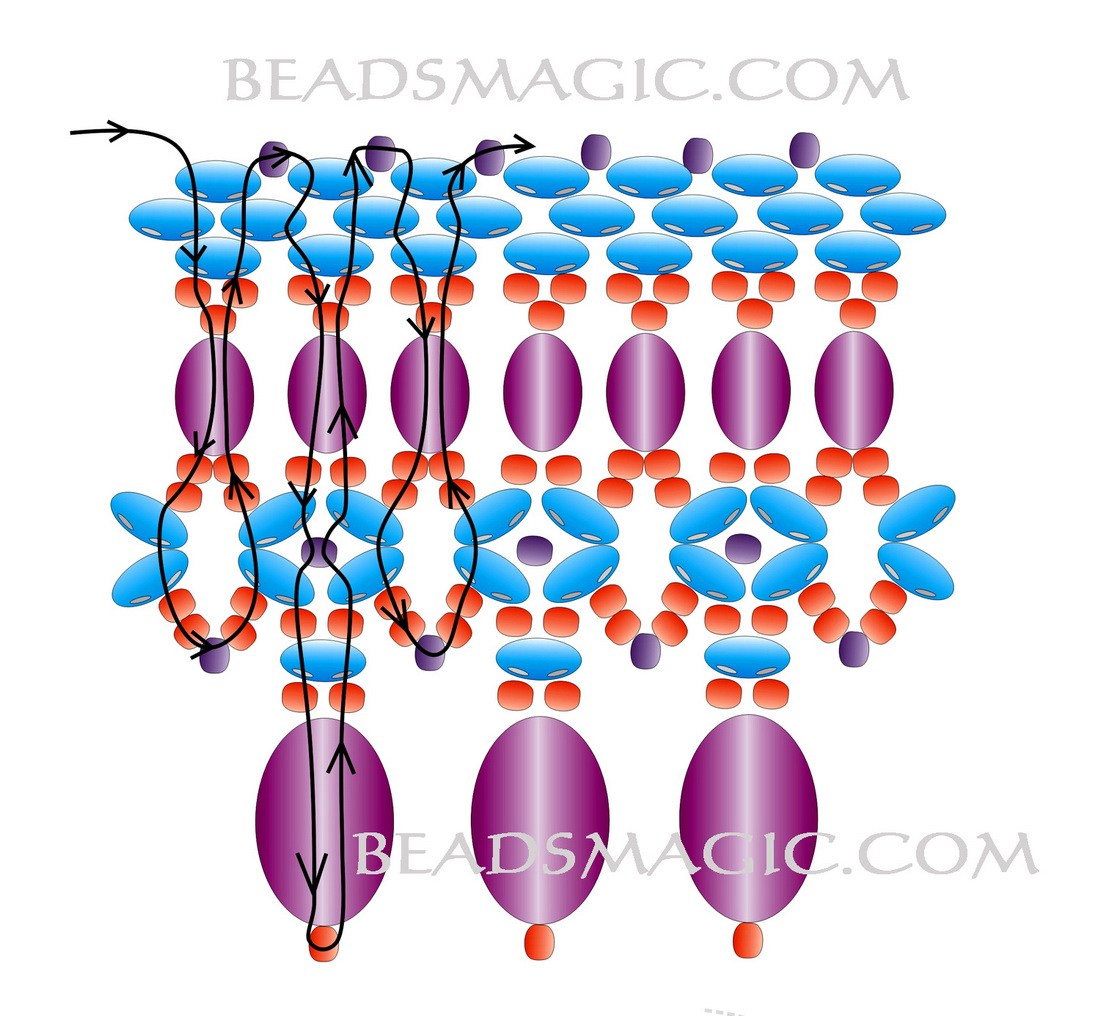 free-bead-tutorial-necklace-pattern-2-1 (700x646, 130Kb) .