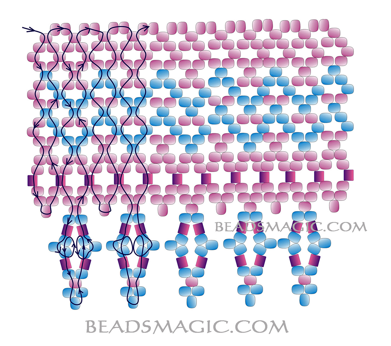 free-beading-pattern-necklace-tutorial-2-1