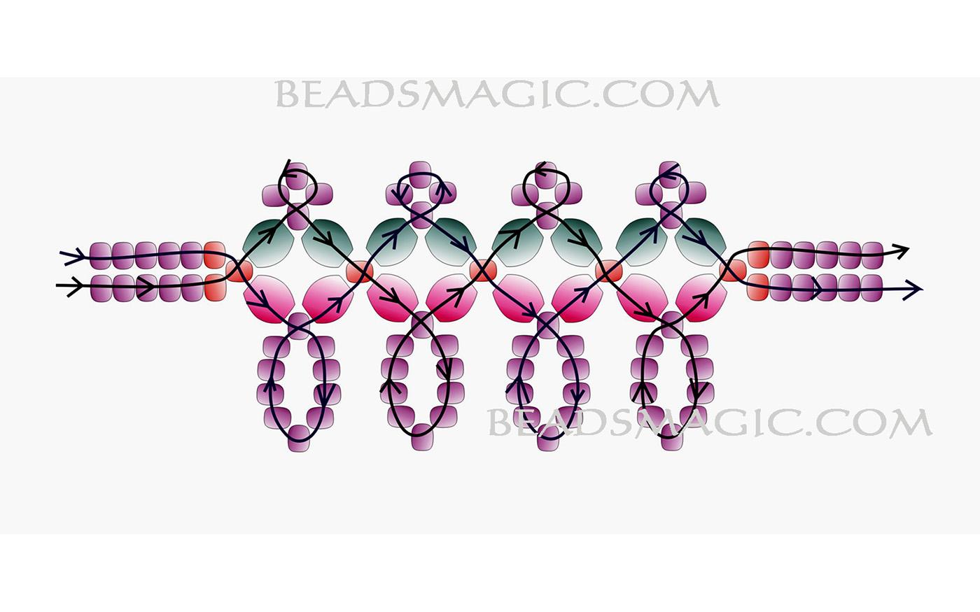 free-beaded-necklace-tutrorial-2