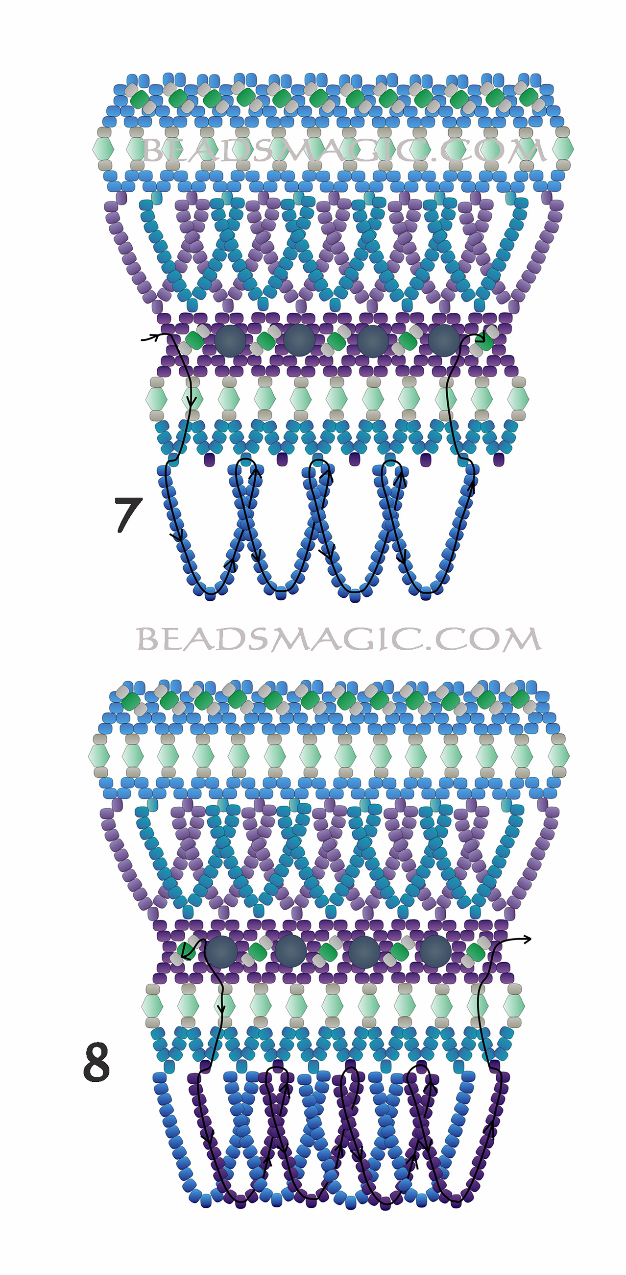 free-beading-tutorial-necklace-pattern-2-3