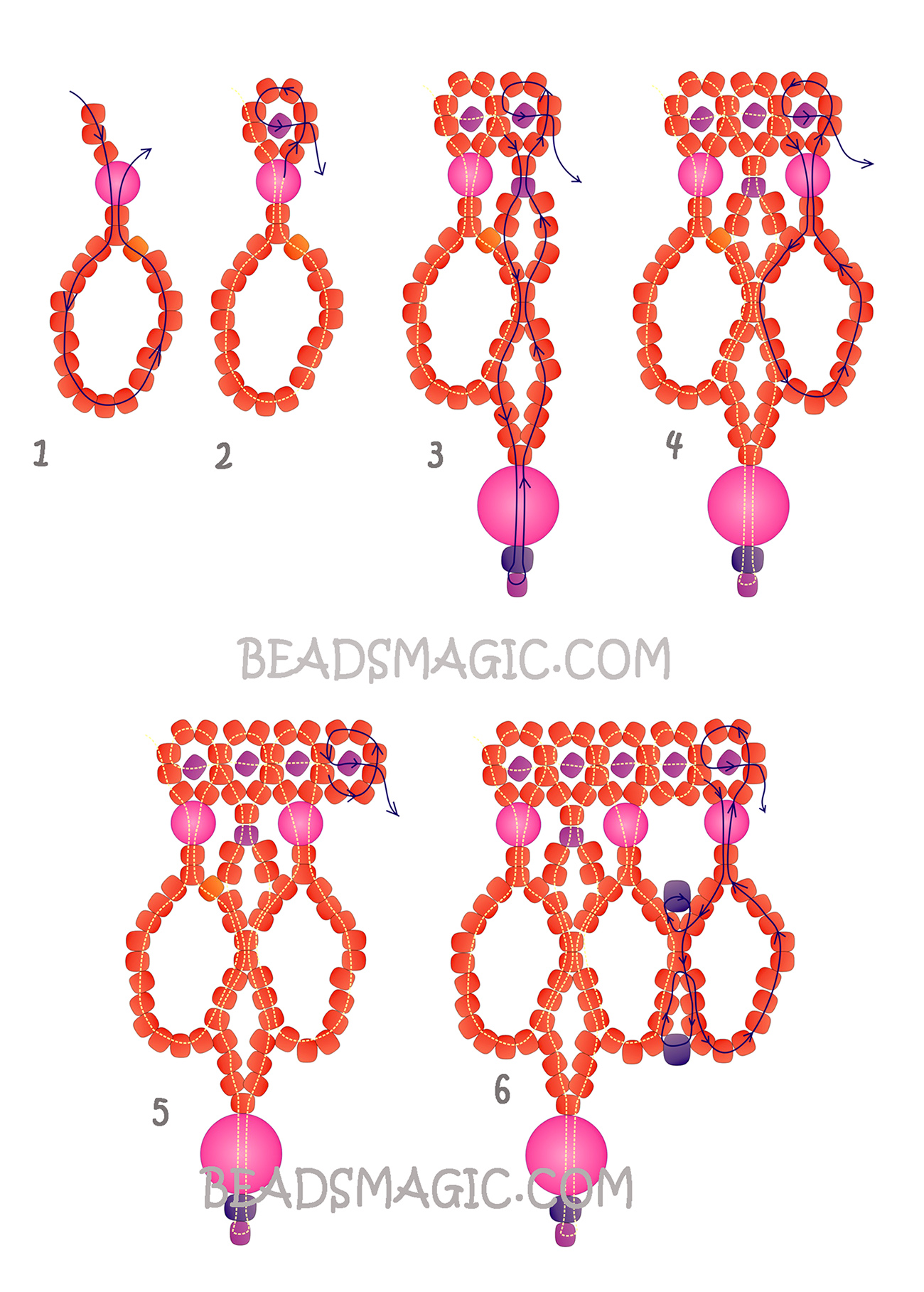 free-beading-tutorial-necklace-2-2