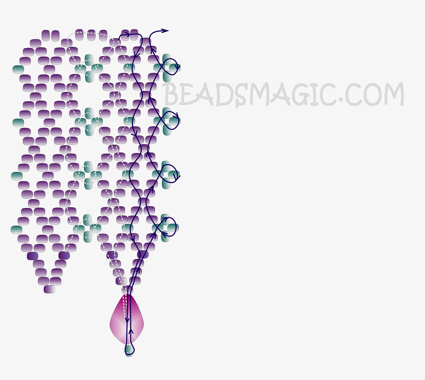 free-beading-tutorial-necklace-2-3