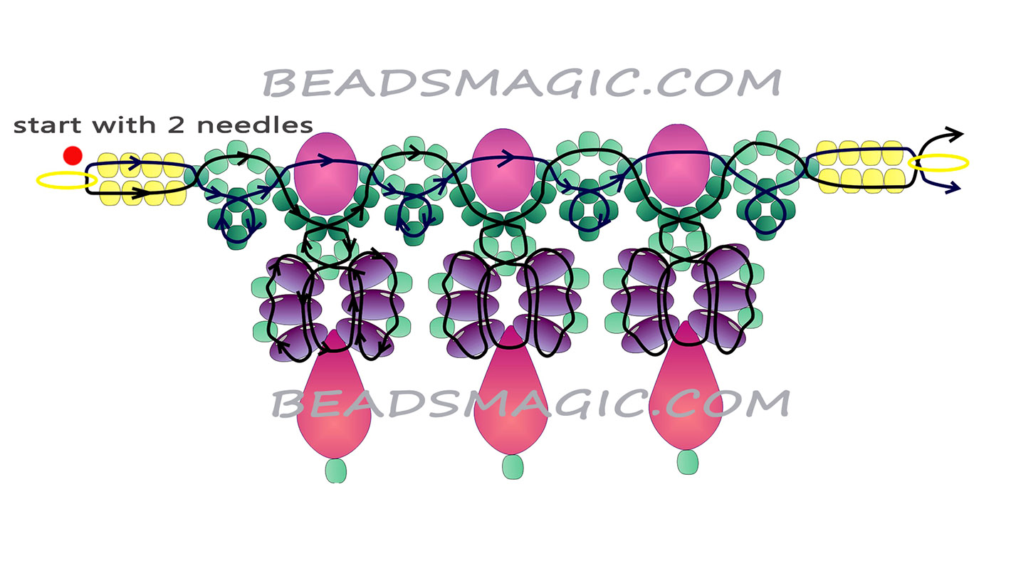 free-beading-tutorial-necklace-22-1024x568 (700x388, 169Kb) .