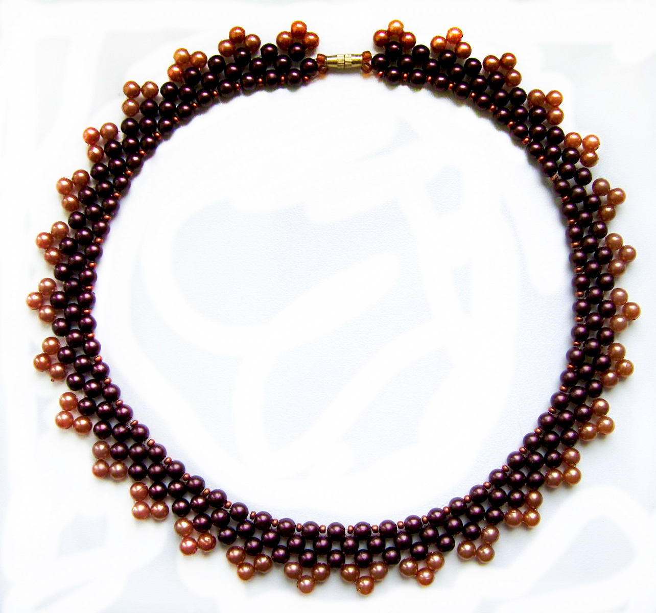 free pattern for necklace magic