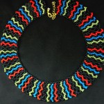 Free pattern for necklace Colors