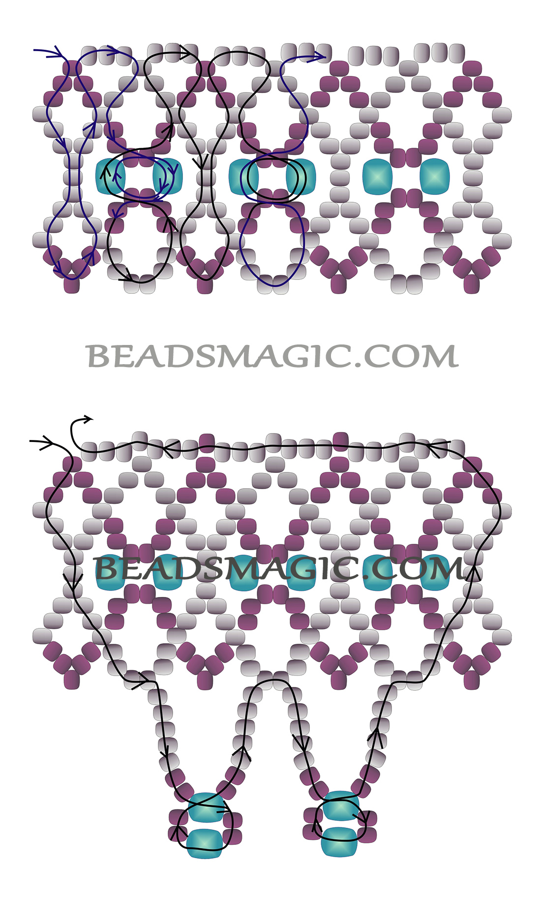 free-beading-necklace-tutorial-pattern-instructions-2