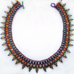 Free pattern for necklace Amity
