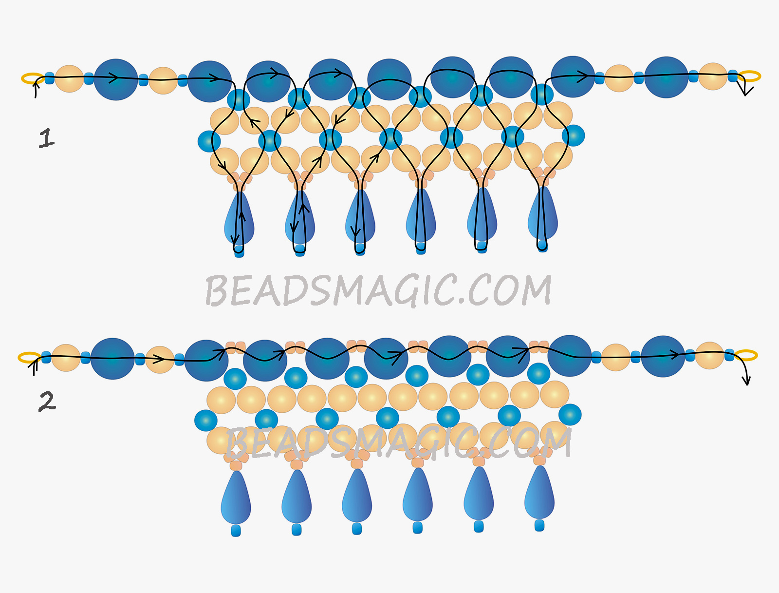 free-beading-tutorial-necklace-instructions-pattern-2