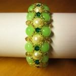 Free pattern for bracelet Sedge