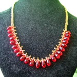 Free pattern for necklace Silva