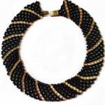 Free pattern for necklace Katrina