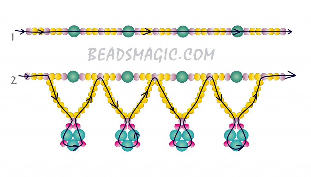 free-pattern-beading-pearl-necklace-tutorial-2