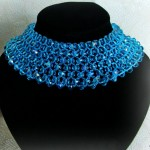Free pattern for necklace Ocean