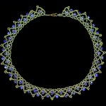 Free pattern for necklace Belle