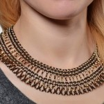 Free pattern for necklace Adriana