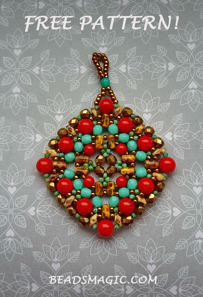 free-pattern-beaded-pendant-tutorial-red-blue-1
