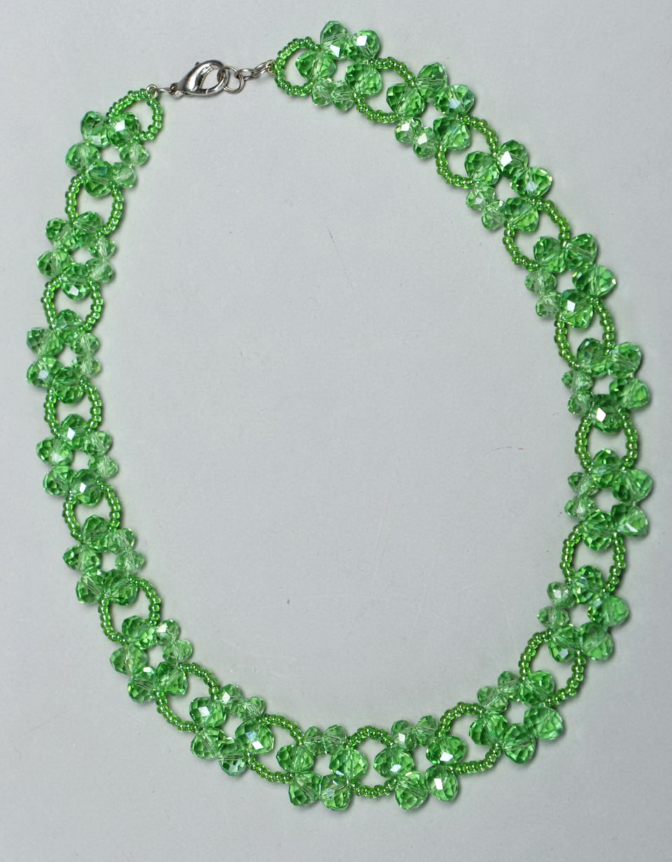 Free pattern for beaded necklace Laurel | Beads Magic