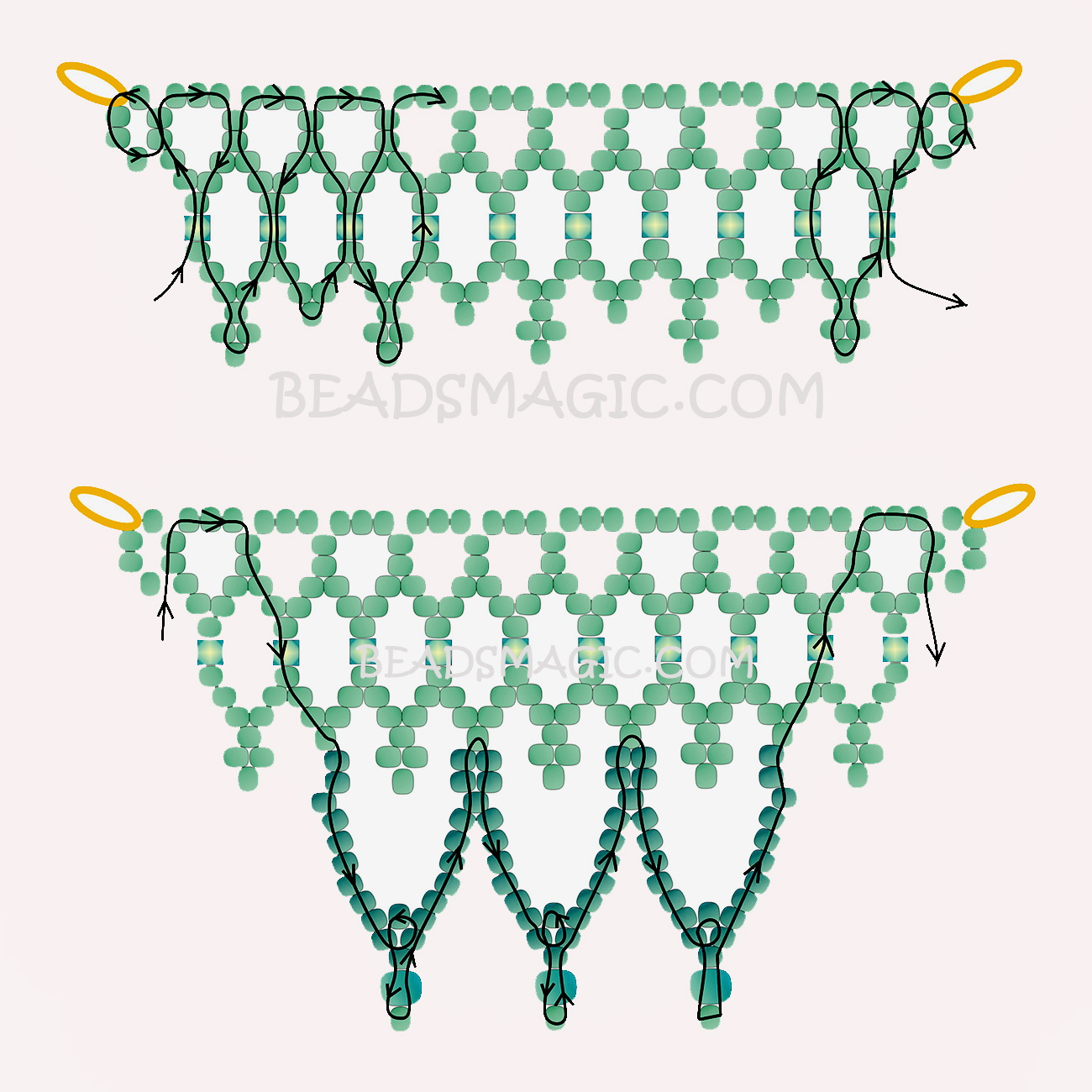 free-pattern-beaded-white-necklace-tutorial-blue-2