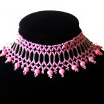 Free pattern for choker necklace Jenner