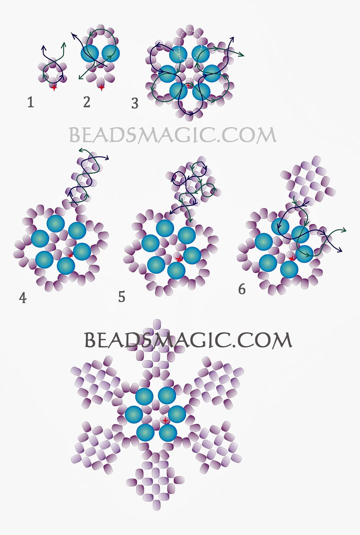 free-beading-snowflake-pendant-pattern-2-2016