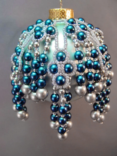 Beautiful Christmas Ornaments By Barbara Talijan Beads Magic