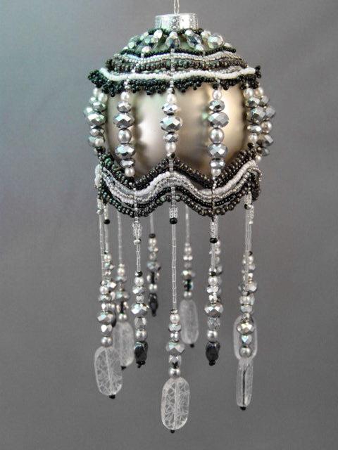 Beautiful christmas ornaments by barbara talijan beads magic