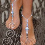 Free pattern for foot (ankel) bracelet Sun Step