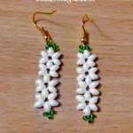Free pattern for earrings Jasmine