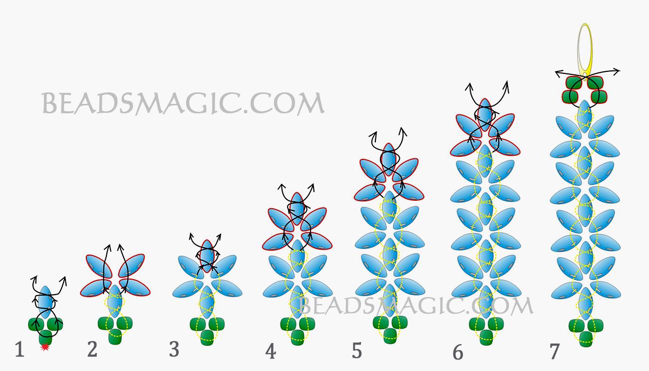 beading pattern free
